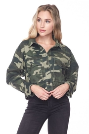Love Tree Camo Cropped Jacket - Product Mini Image