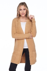Love Tree Candy's Soft Pocket Cardigan - Front cropped