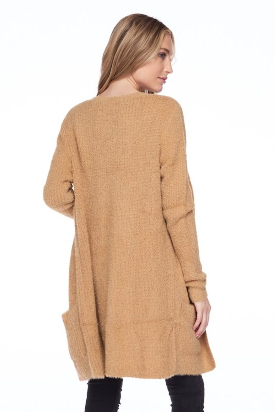 Love Tree Candy's Soft Pocket Cardigan - Front Full Image