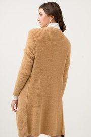 Love Tree Candy's Soft Pocket Cardigan - Back cropped