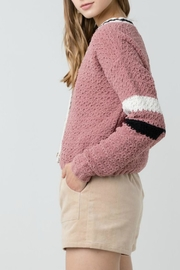 ALB Anchorage Chenille Cropped Cardigan - Side cropped