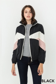 Love Tree Color Block Windbreaker - Front cropped