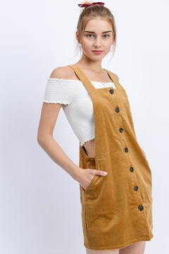 Shoptiques Product: Corduroy Mini Dress