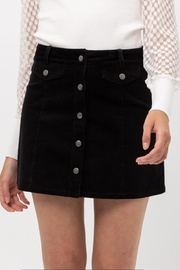 Love Tree Corduroy Mini Skirt - Product Mini Image