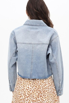 Love Tree Cropped Denim Jacket - Alternate List Image