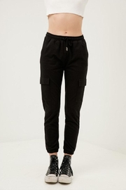 Love Tree Cropped Slim Joggers - Product Mini Image