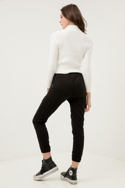Love Tree Cropped Slim Joggers - Side cropped