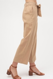 Love Tree Cropped Tie Pants - Side cropped