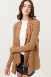 Love Tree Duster Sweater Cardigan - Front cropped