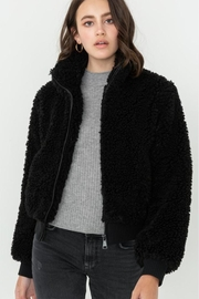Love Tree Faux-Fur Bomber Jacket - Product Mini Image