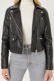 Love Tree Faux Leather Moto Jacket - Other