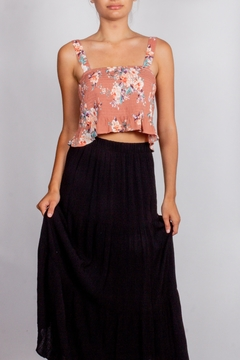 Love Tree Floral Tank Blouse - Product List Image
