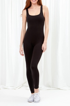 Love Tree Full Length Bodysuit In Midnight Black - Product List Image
