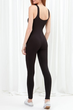 Love Tree Full Length Bodysuit In Midnight Black - Alternate List Image