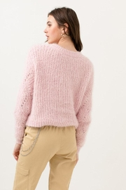 Love Tree Fuzzy Pullover Sweater - Other