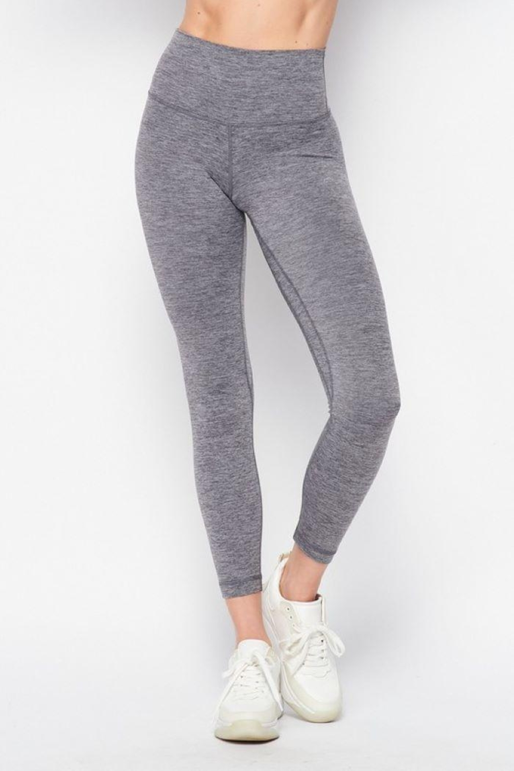 Love Tree High Waist Gym Leggings - Front Cropped Image