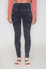 Love Tree Jersey Wash Leggings - Front cropped