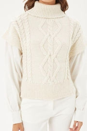 Love Tree Knitted Sweater Turtleneck Top - Other