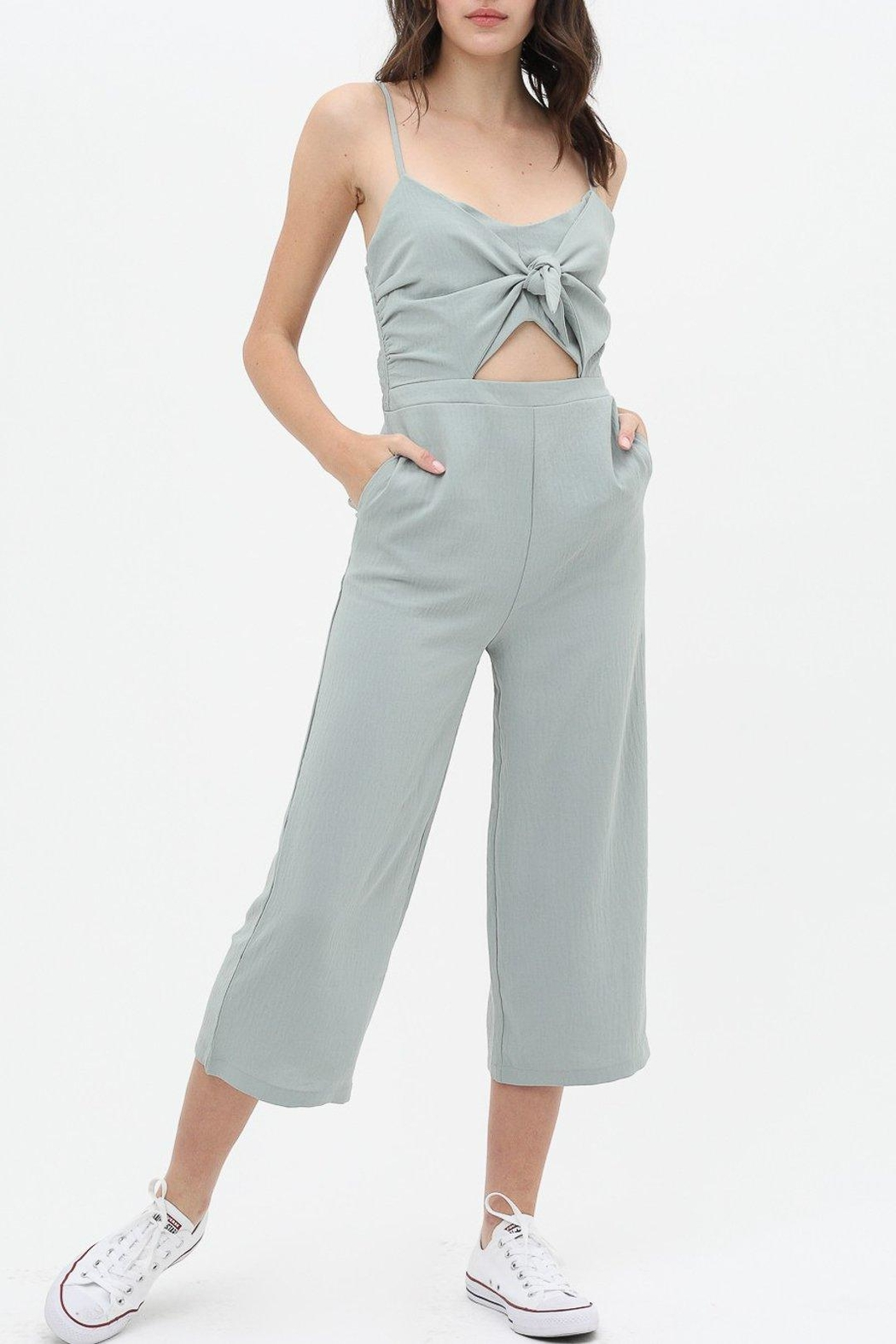 Love Tree Knot Front Jumpsuit - Main Image