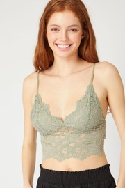 Love Tree Laced Bralette Cami Top - Front cropped