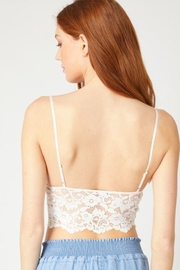 Love Tree Laced Bralette Cami Top - Front full body