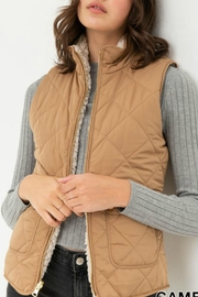 Love Tree Lacey Reversible Vest - Front full body