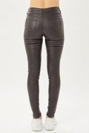Love Tree Leather Pants With Skinny Fit - Side cropped