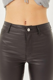 Love Tree Leather Pants With Skinny Fit - Other