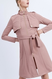Love Tree Light Trench Coat - Product Mini Image