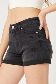 Love Tree Mid-Rise Denim Shorts - Side cropped