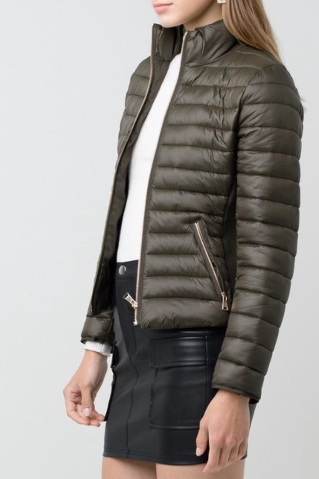 Love Tree Padded Puffer Jacket - Front Full Image
