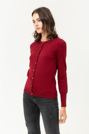 Love Tree Pearl Button Up Cardigan - Other