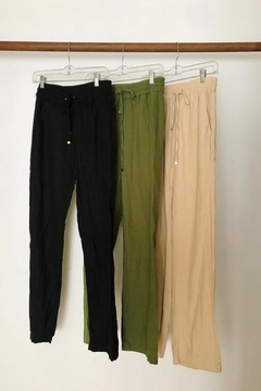 Love Tree Perfect Linen Pant - Alternate List Image