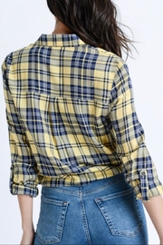 Love Tree Plaid Button Down - Side cropped