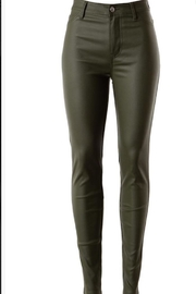 Love Tree Pu-Leather Skinny Pant - Product Mini Image