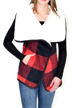 Shoptiques Product: Red Black Vest