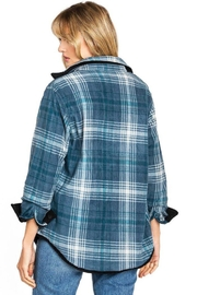 Love Tree Reversible Plaid Jacket - Other