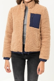 Love Tree Reversible Sherpa Jacket - Other
