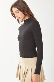 Love Tree Ribbed Long Sleeve Top - Other