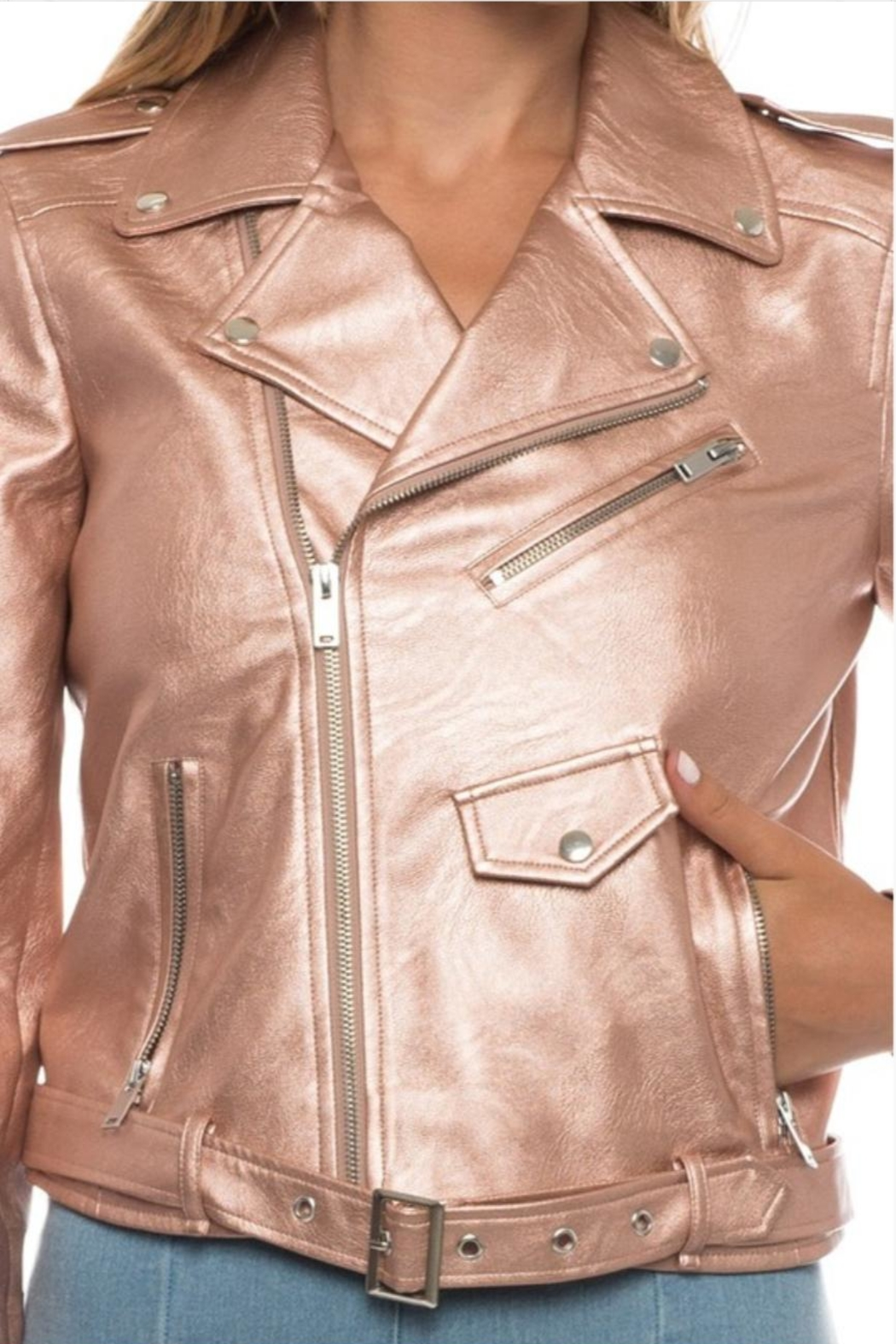 Love Tree Rose Gold Jacket - Front Full Image
