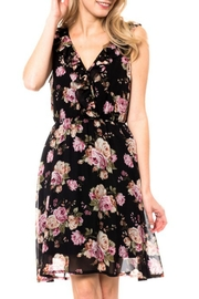 Love Tree Ruffle Floral Dress - Product Mini Image
