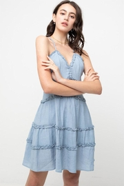 Love Tree Ruffled Hem Dress - Product Mini Image