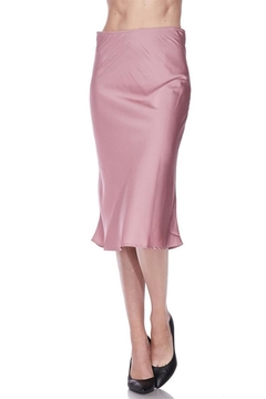 Shoptiques Product: Satin Midi Skirt