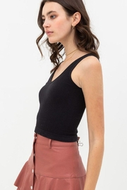 Love Tree Scooped Knit Tank Top - Other