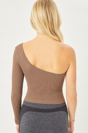 Love Tree Seamless Ots Crop Top - Side cropped