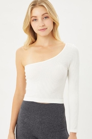Love Tree Seamless Ots Crop Top - Front cropped