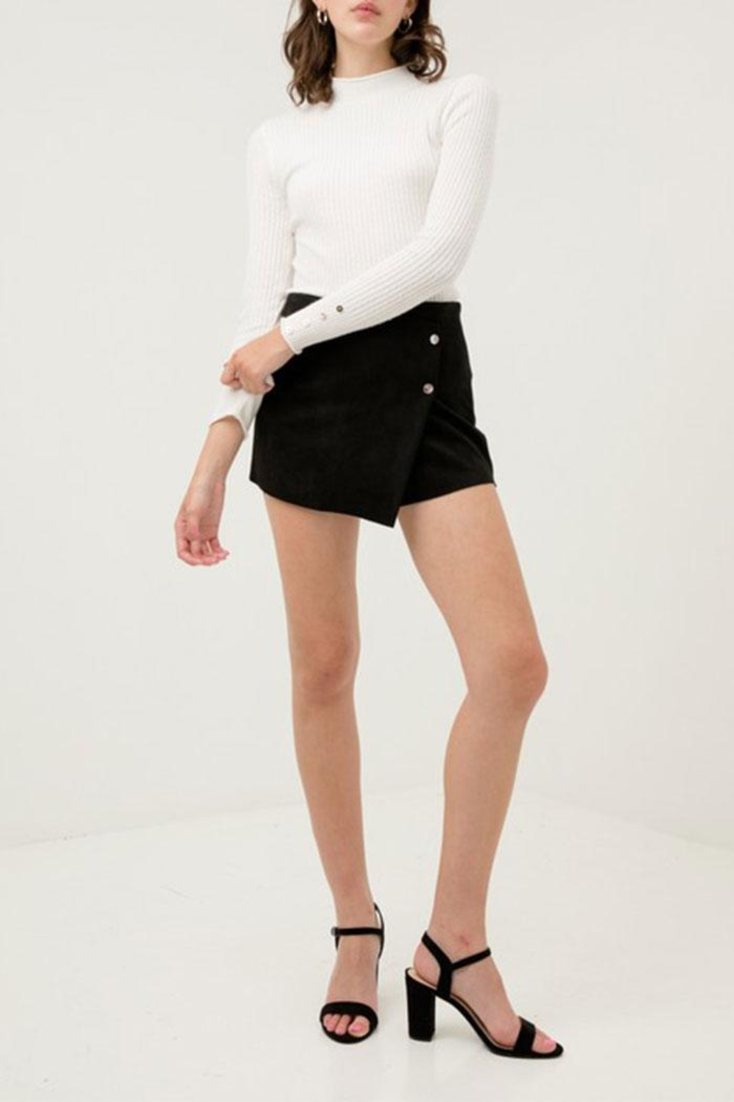 Love Tree Skort With Pareo-Front - Front Full Image