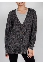 Love Tree Slouchy Button-Down Cardigan - Product Mini Image