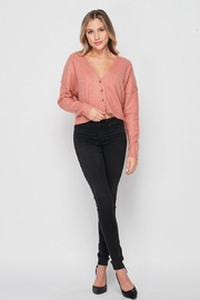 Love Tree Soft Button Down Cardigan - Other