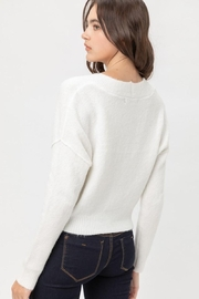 Love Tree Soft Button Down Cardigan - Side cropped
